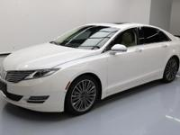 2015 Lincoln MKZ/Zephyr with Technology Package,2.0L