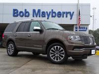 Brown 2015 Lincoln Navigator RWD 6-Speed Automatic