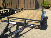 "2015 Load Trail 83"" X 12' UTILITY TRAILER 2990# - WITH"