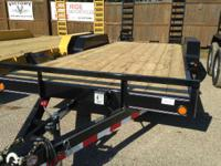 "2015 Load Trail 83"" X 18' EQUIPMENT TRAILER - 10 000#"