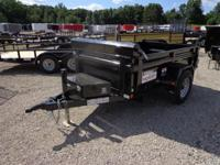 "(989) 607-4841 ext.109 60"" x 8' Open Dump Trailer For"