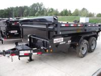 "(989) 607-4841 ext.624 83"" x 12' Open Dump Trailer For"