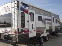 2015 LONGHORN REAR LIVING TRAVEL TRAILER TEXAS THEME