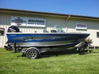 New 2015 Lund 1800 Tyee with Mercury 150 XL and custom