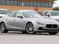 CARFAX One-Owner. Clean CARFAX. Silver 2015 Maserati