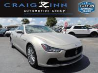 CarFax 1-Owner, This 2015 Maserati Ghibli S Q4 will