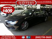 This Amazing Black 2015 Maserati Ghibli S Q4 Sedan