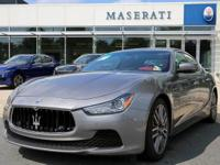 Check out this gently-used 2015 Maserati Ghibli we