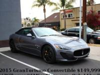 This gorgeous 142 mile GranTurismo Convertible Sport is
