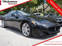 New Price! Clean CARFAX. Black 2015 Maserati
