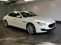 This 2015 Maserati Quattroporte is featured in Bianco