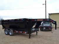 2015 Maxey Gooseneck Roll-Off Dump Trailer. -Includes 1