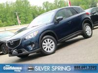 2015 Mazda CX-5 Touring Deep Crystal Blue Mica ONE