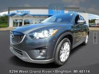 Options:  2015 Mazda Cx-5 Grand Touring|Gray|Carfax