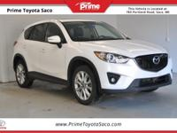 Carfax One Owner! 2015 Mazda CX-5 Grand Touring in