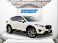 Options:  2015 Mazda Cx-5 Grand Touring|White|2.5L 4