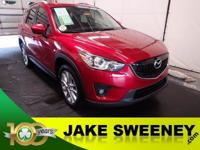 Our 2015 Mazda CX-5 Grand Touring AWD is sure to