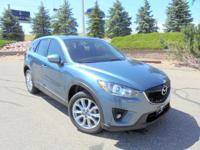 Our One Owner 2015 Mazda CX-5 Grand Touring AWD is