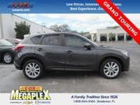 This 2015 Mazda CX-5 Grand Touring in Gray is well