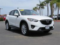Options:  2015 Mazda Cx-5 Grand Touring|White/Black|V4