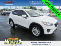This 2015 Mazda CX-5 Grand Touring is well equipped