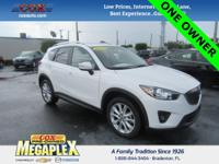 This Certified 2015 Mazda CX-5 Grand Touring in Crystal