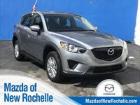 CARFAX One-Owner. Certified. Silver 2015 Mazda CX-5