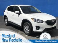CARFAX One-Owner. White 2015 Mazda CX-5 Touring AWD