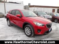 CARFAX One-Owner. Clean CARFAX. Soul Red 2015 Mazda