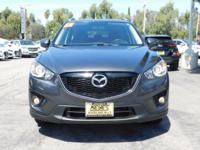 Options:  2015 Mazda Cx-5 Touring|Meteor Gray