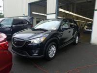 Jet Black 2015 Mazda CX-5 Touring AWD 6-Speed Automatic