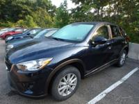 Recent Arrival! 2015 Mazda CX-5 Touring Crystal Blue