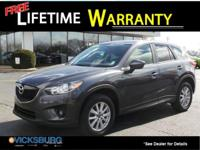 Options:  2015 Mazda Cx-5 Touring|Gray|30/24