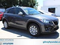 Gray 2015 Mazda CX-5 Touring AWD 6-Speed Automatic