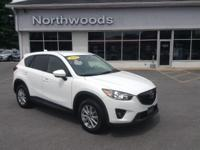 Recent Arrival! CARFAX One-Owner. Crystal White 2015