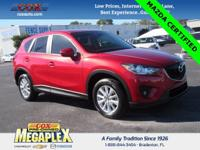 1 OWNER! This Certified 2015 Mazda CX-5 Touring in Soul