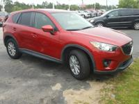 Soul Red 2015 Mazda CX-5 Touring FWD 6-Speed Automatic