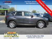 This 2015 Mazda CX-5 Touring in Gray is well equipped