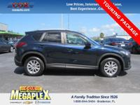 Just Reduced! Certified. This 2015 Mazda CX-5 Touring