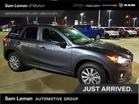 2015 Mazda CX-5 Touring in Charcoal vehicle highlights