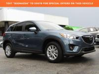 CARFAX One-Owner.2015 Mazda CX-5 Touring SKYACTIV 2.5L