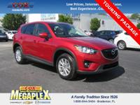 This 1 OWNER, Certified 2015 Mazda CX-5 Touring is well