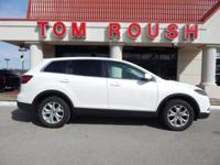 Crystal White Pearl Mica 2015 Mazda CX-9 Touring FWD