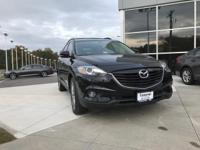 Jet Black Mica 2015 Mazda CX-9 Grand Touring FWD