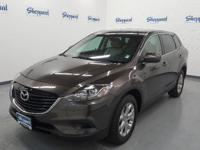 CX-9 Touring trim. CARFAX 1-Owner. 3rd Row Seat, Heated