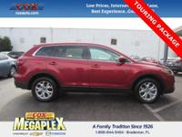 This 2015 Mazda CX-9 Touring in Red is well equipped