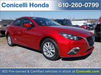 This 2015 Mazda MAZDA3 IS PRICED TO SELL! -CARFAX ONE