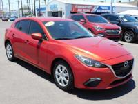 New Arrival! Bluetooth, This 2015 Mazda Mazda3 i Sport,