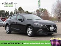 CarFax 1-Owner, This 2015 Mazda MAZDA3 i Sport will