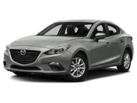 2015 Mazda Mazda3 i in Silver custom features include.,